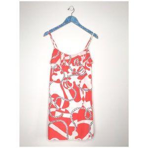 Lilly Pulitzer Laya Silk Booze Cruise Mini Dress